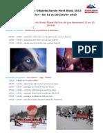 Programme LGO 2013