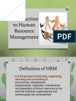 Introduction to Human Resource Management(2)