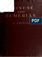 Chinese and Sumerian grammar and dictionary