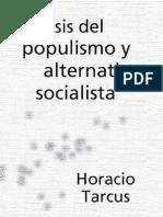 critica del populismo y alternativas