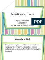 penyakit pada bronkus
