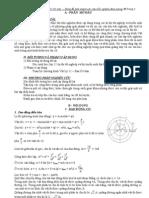 Công thức vật lý 12 LTĐH