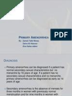 Primary amenorhea