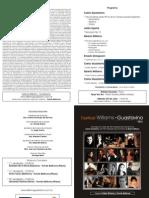 Festival Williams - Guastavino - Concierto Nro. 6