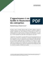 Groupe Et Financement