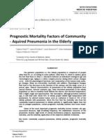 Prognostic Mortality