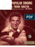 Frank Sinatra - Tips on Popular Singing (Exercises)