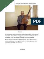 LOS TRIOS CONCEJOS, BY JOSE OLIVERA