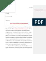 Intd 105 Essay #2