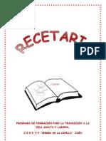 RECETAS EDUCACION ESPECIAL