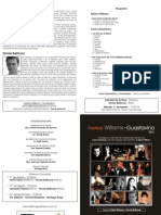 Festival Williams - Guastavino - Programa de Concierto Nro. 7