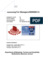 Latest 2 Oct. 2012 MBA Unit Handbook