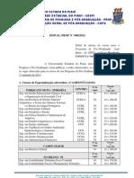 EDITAL_PROP_008-2012_-_ESPECIALIZAÇÃO-2013.1