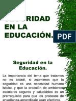 Seguridad en la educación de España