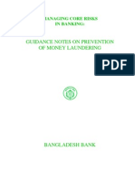Bangladesh Guidence Notes on Prevention of Money Laundering