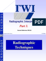 TWI Radiographic Interpretation.(Part3)