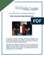 DECÁLOGO DE LA FAMILIA CRISTIANA | ALIANZA DE AMOR
