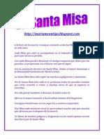 LA SANTA MISA | ALIANZA DE AMOR
