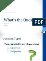 JOUR 102 Question Types