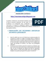 MEDITACIONES CATÓLICAS II | ALIANZA DE AMOR