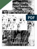 Analytical Mechanics Solutions