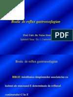 1- Boala de Reflux Gastroesofagian Prof. Dr. Stoica