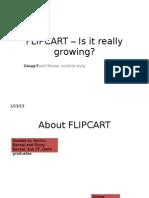 FLIPCART – Is it really growing