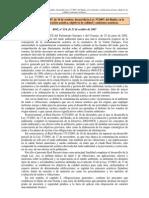 RD 1367/2007. Zonoficación acústica, objetivos de calidad y emisiones acústicas