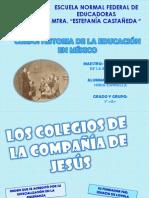 Tema Del Curso de Historia de La Educacion en Mexico
