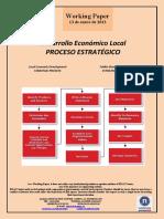 Desarrollo Económico Local. PROCESO ESTRATÉGICO (Es) Local Economic Development. STRATEGIC PROCESS (Es) Tokiko Ekonomi Garapena. ESTRATEGI PROZESUA (Es)