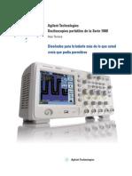 Datashet del Osciloscopio dela serie 1000 en español