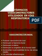 fármacos vasoconstrictores