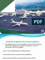 Contrato de gestión de servicios públicos