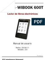 Wibook Inves 6000T Manual