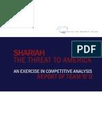 Shariah - The Threat to America
