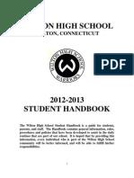 2012-2013 Student Handbook Final Copy