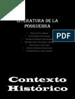 Literatura de la Posguerra Española