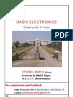 basic electronics notes