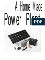 Make a Home Made Power Plant