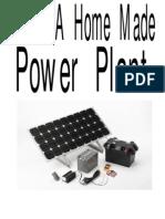 Make a Home Made Power Plant