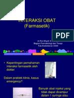 Pharmaceutic Interaction 2