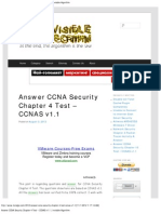 Answer CCNA Security Chapter 4 Test – CCNAS v1.1 _ Invisible Algorithm