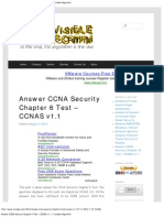 Answer CCNA Security Chapter 6 Test – CCNAS v1.1 _ Invisible Algorithm