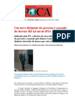 Desvio Bva Integrante Fidc Bancoop Petros 2013 Epoca
