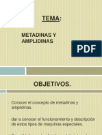 metadinas y amplidinas