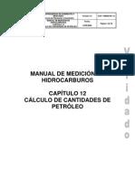 Cap.12 Calculo de Cantidades de Petroleo