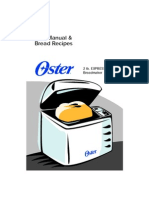 Oster Breadmachine Instructions