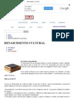 Renascimento Cultural