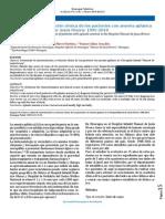 Caracterización y evolución clínica de los pacientes con anemia aplásica en el Hospital Manuel de Jesús Rivera