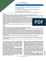 Incidencia de infecciones oportunistas en niños con VIH/SIDA